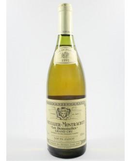 Chevalier-Montrachet Grand Cru les Demoiselles Jadot 1991
