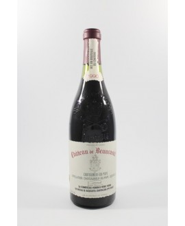 Beaucastel CDP rouge 1990