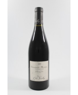 Cécile Tremblay Chambolle musigny 1er cru Les feusselotes 2009