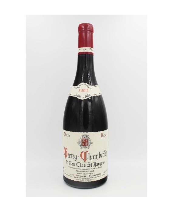 Domaine Fourrier Gevrey Chambertin Clos St-Jacques 1er Cru VV 2004