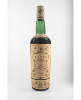 Hunts PORT porto extra old vintage 1735