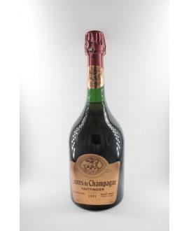 Taittinger Comtes de Champagne Rosé Brut 1981