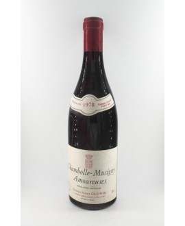 Groffier Chamolle musigny les Amoureuses 1978
