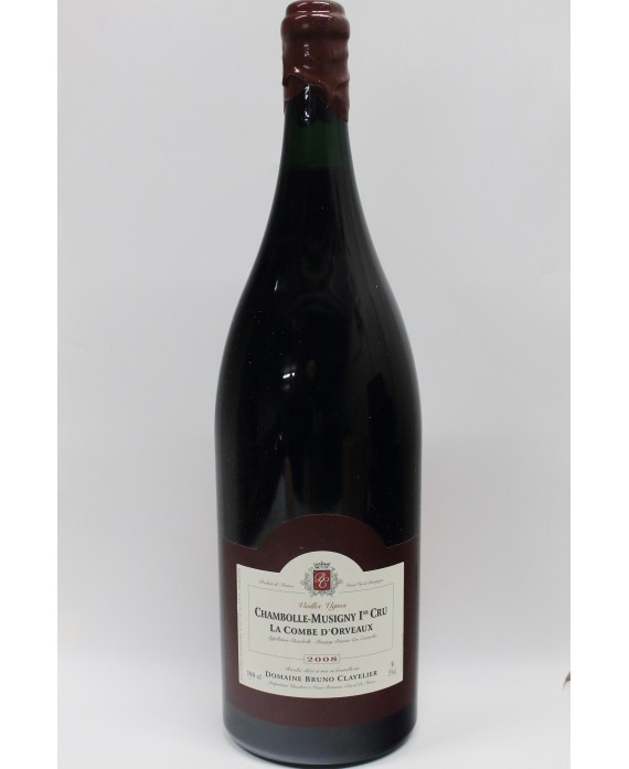 OWC D-MAG Bruno Clavelier Chambolle Musigny 1er Cru La Combe d'orveaux 2008