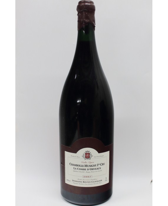 OWC D-MAG Bruno Clavelier Chambolle Musigny 1er Cru La Combe d'orveaux 2007