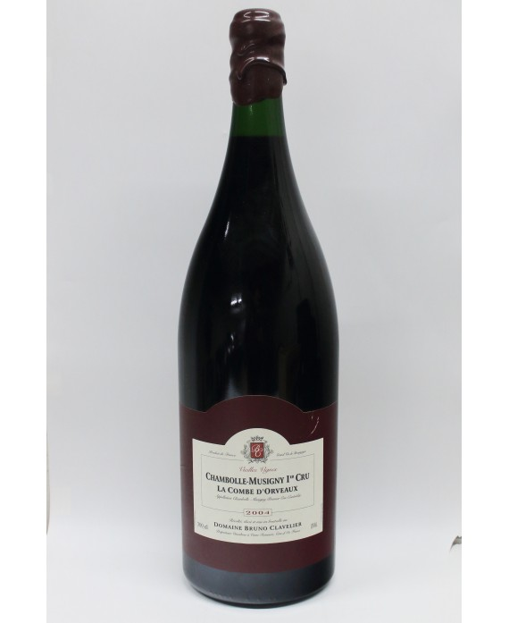 OWC D-MAG Bruno Clavelier Chambolle Musigny 1er Cru La Combe d'orveaux 2004
