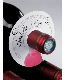 Disques de cave atelier du vin (80 pces)