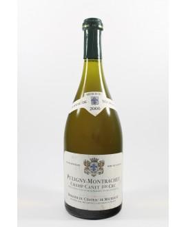 Puligny Montrachet 1er cru Champ Canet Château de Meursault 2000