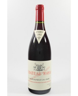 Rayas CDP rouge 2002